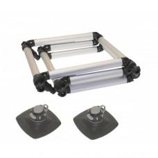 Лестница складная с набором для установки на надувной борт (Fl032+2Fmp225) (Выбор цвета)