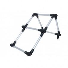 Лестница складная из алюминиевой трубы Ø 22 мм (Выбор цвета)