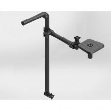 Держатель датчика / трансдьюсера эхолота с возможностью ручного вращения датчика и регулировкой глубины погружения