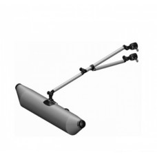 Надувной стабилизатор  с набором для установки на трубу Ø 35 мм и складной опорной ногой (выбор цвета)