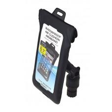 """Универсальный водонепроницаемый чехол из  полиуретана, модель AG-W1 для смартфонов до 5.7 """" с поворотно-наклонным держателем модели Max020 (Выбор цвета)"""