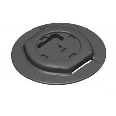 Монтажная ПВХ площадка для установки компактного замка Fs218 на надувной  ПВХ борт (выбор цвета)