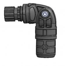 Узел карданный пластиковый, для труб с наружным  Ø 22 мм  или внутренним  Ø 29 мм   (Выбор цвета)