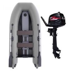 Комплект лодка Jetmar 3м  + мотор T6 (Выбор цвета лодки)