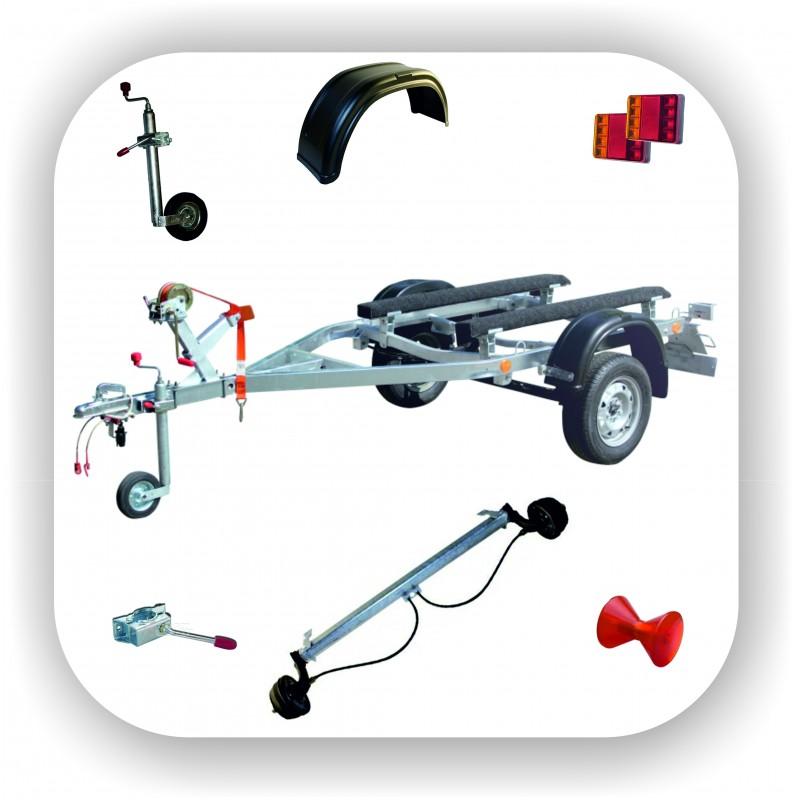 Оборудование и запчасти для прицепов