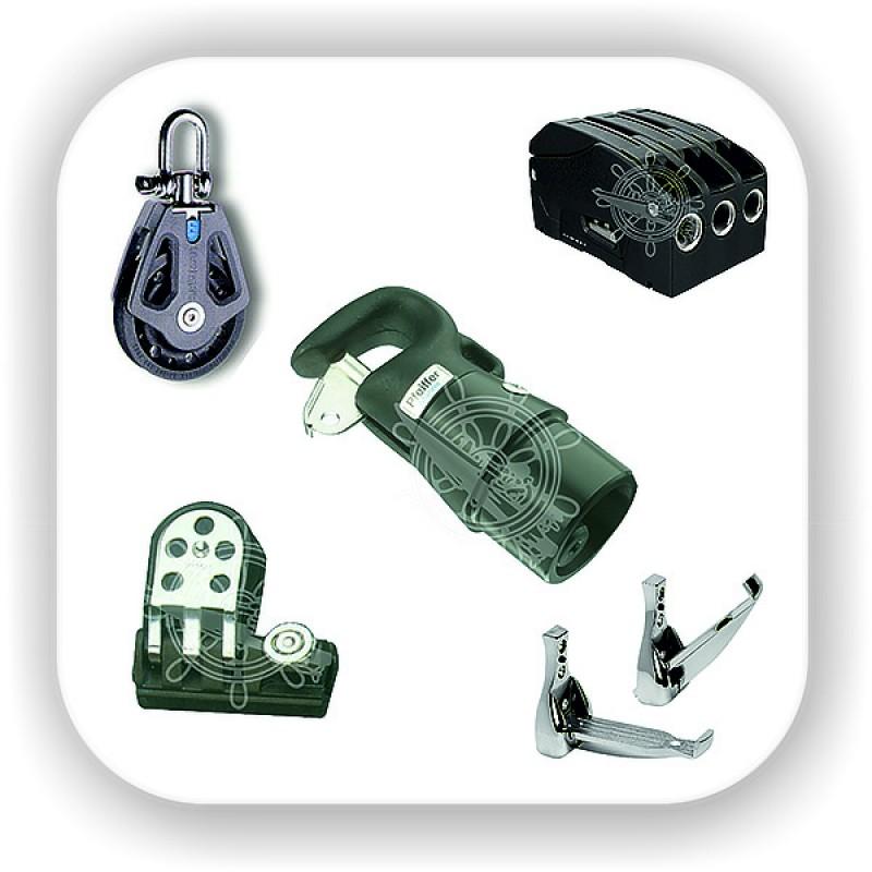 Парусное оборудование, блоки, стопоры, стаксель, вант-путенс, латы, мачта, гик, погоны, каретки, планшир, комплектующие для парусов яхты