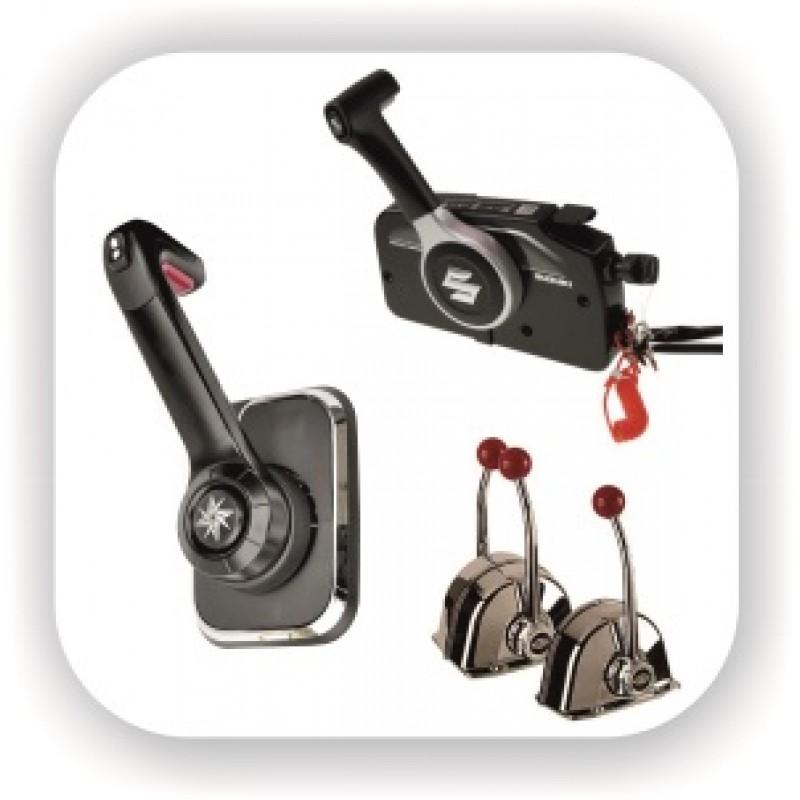 Ручки дистанционного управления, дистанционное управление лодочным мотором