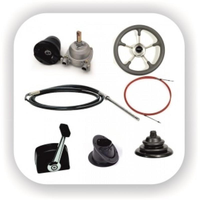 Рулевое и дистанционное управление мотором и судном