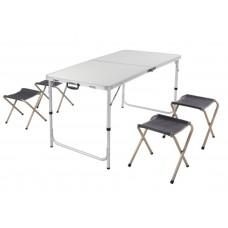 Комплект стол 120х60см и 4 стула PC1612S