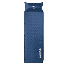 Широкий надувной коврик с подушкой Nature Hike ULTRALIGH TPU 185х60х2,5см, вес 1кг   (Выбор цвета)
