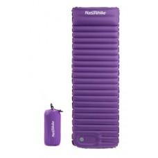 Самонадувной матрац Nature Hike C001 TPU с подушкой 185 х 60 х 7,5 см, вес 677гр,  (Выбор цвета)