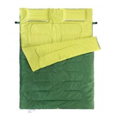Двойной спальный мешок с подушками Nature Nike (185+30)*145cm, вес 2,4кг, 5-10℃ (Выбор цвета)