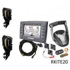Комплекты для работы с несколькими моторами EVINRUDE мощностью 150> 300 л.с. RKITE20