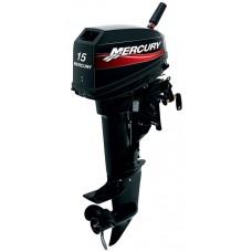 Лодочный 2-х тактный мотор Mercury 15 MH
