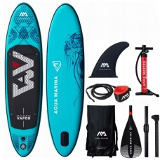 Доска SUP Aqua-Marina Vapor. — All-Around iSUP, 3м/12см