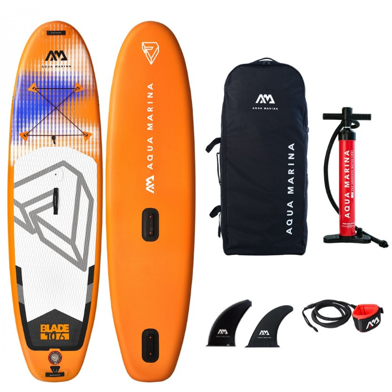 Доска SUP Aqua-Marina Blade-Windsurf iSUP, 3.2m/12cm