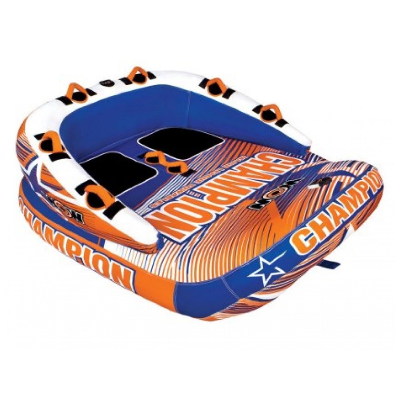 Буксируемый баллон (Плюшка) Champion 2P Tube. WOW. 21-1000