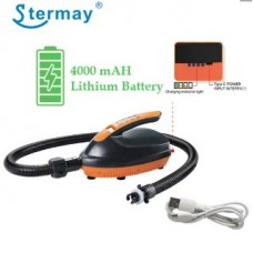 Насос для SUP досок STERMAY HT-781A с литиевым аккумулятором 4000mAH 70L/min 16 PSI