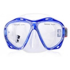 Маска для плавания YM366 синяя